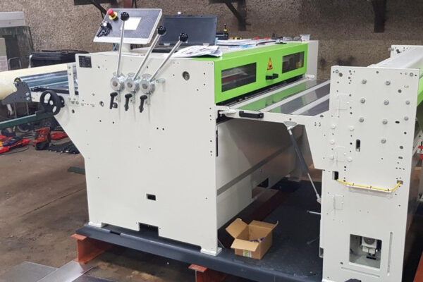Forstner Cut To Length machine installed