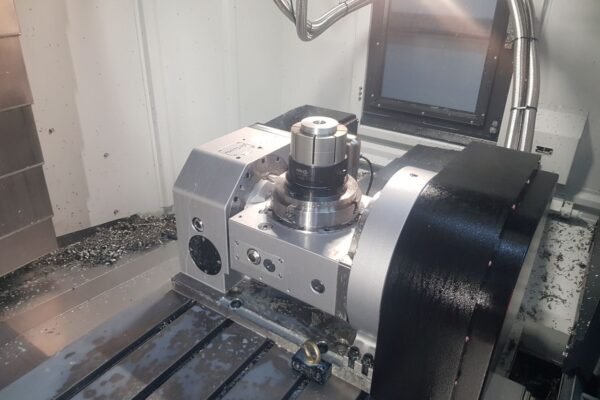 Recent installation of a Detron GFA170S 5th Axis Rotary table